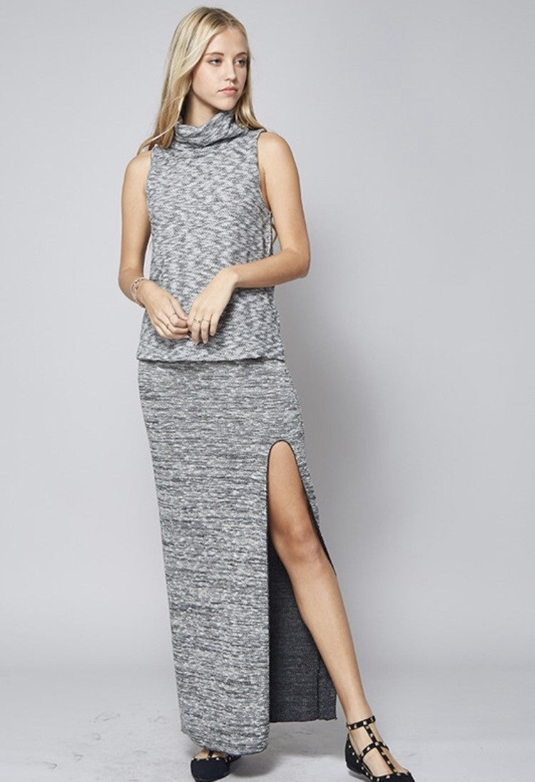 MEL SIDE SLIT SKIRT