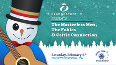 Orangestore presents The Masterless Men, The Fables and Celtic Connection