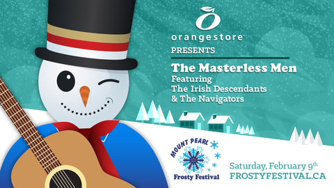 Orangestore presents The Masterless Men Featuring Special Guests The Irish Descendants and The Navigators