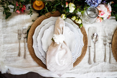 Rachel's favorite table setting