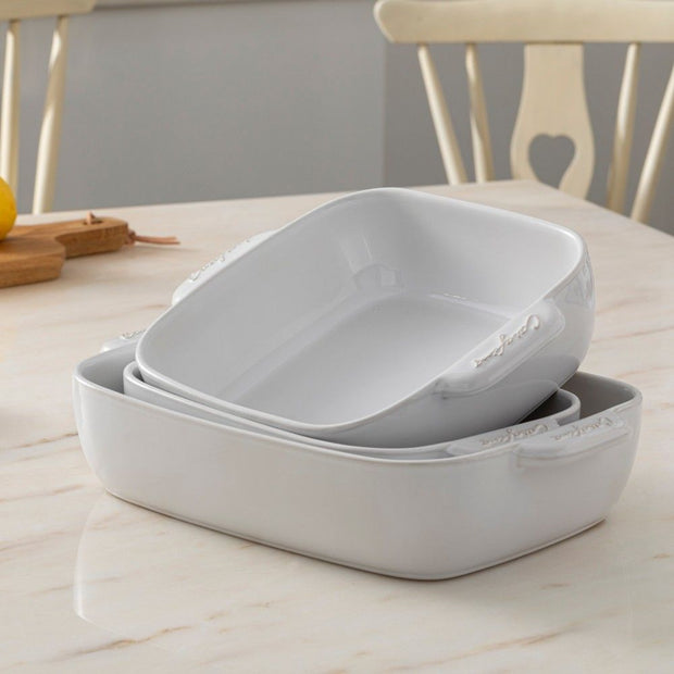 Casa Stone Medium Rectangle Baker