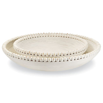 Nested Beaded Bowls