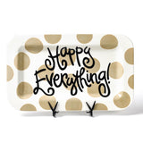 Happy Everything Mini Rectangle Platter With Attachment