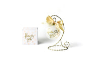 Coton Colors Glass Ornaments - Wedding