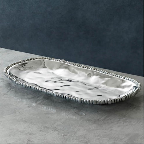Beatriz Ball Organic Pearl Sm. Oval tray