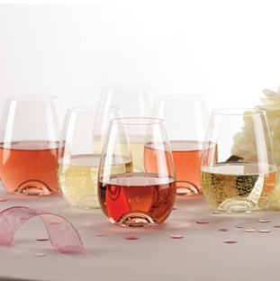 Tuscany Stemless Wine Glass