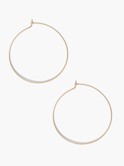 Minka Thin Hoops