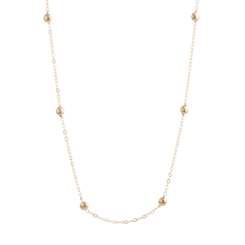 Honesty Gold Necklace 41""