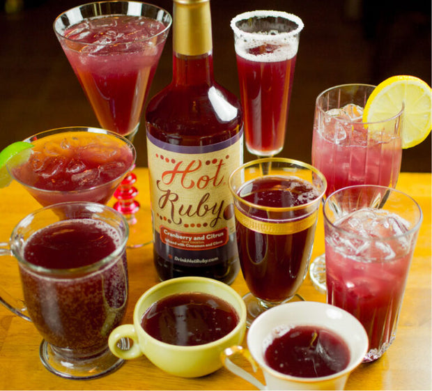 Hot Ruby Cranberry Cider