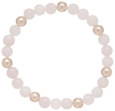 Rose Quartz Sincerity Pattern Bracelet