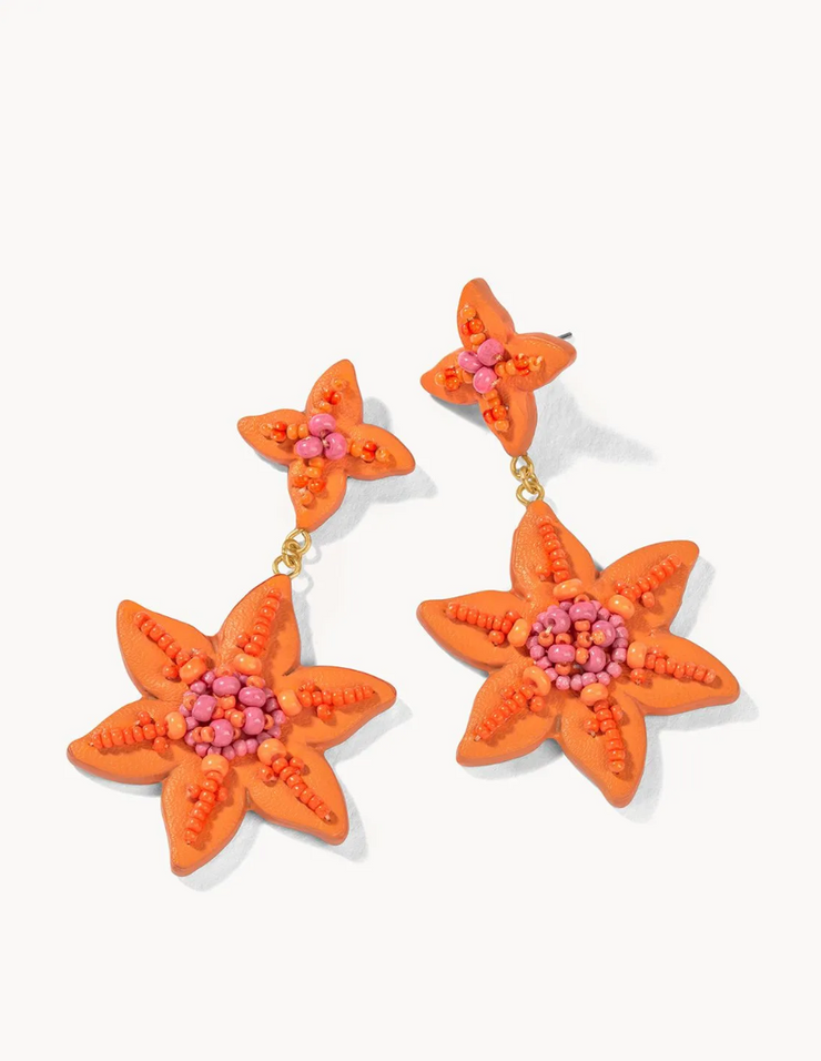 Lily Beaded Earrings *50% OFF - discount applied at checkout