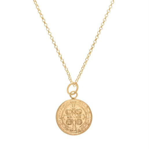 "16"" Gold Necklace w/ Charm"
