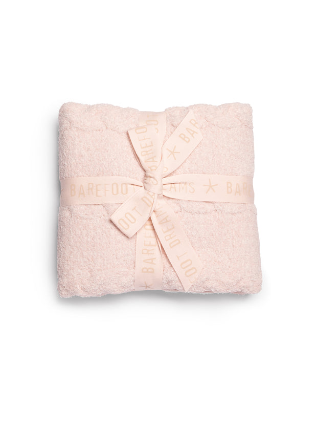 CozyChic® Heathered Cable Baby Blanket