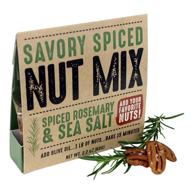 Rosemary Spiced Nut Mix