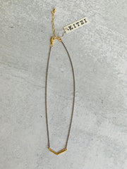 Kitzi Two Toned Necklaces