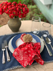 Bandana Napkins Set of 4