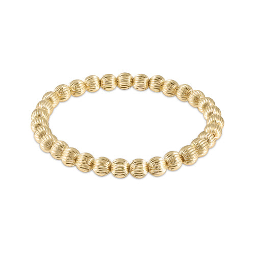 Dignity Gold Bead Bracelet