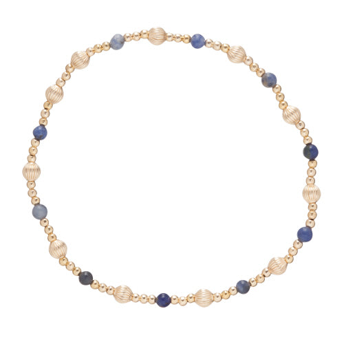 Dignity Sincerity 4mm Bead Bracelet - Gemstone