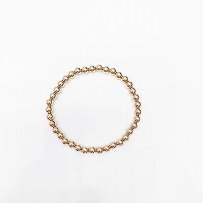 Classic Gold 5mm Bead Bracelet