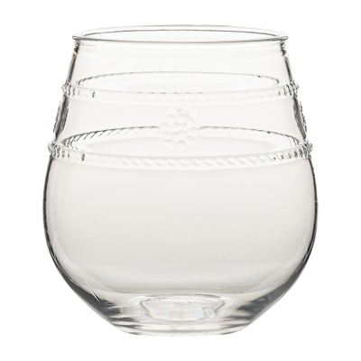 Isabella Acrylic Drinkware - Stemless Wine