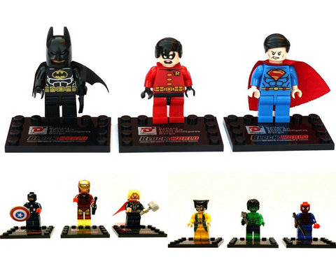 Superhero Mini Figure Sets