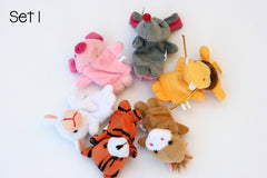 Soft Playtime Finger Puppets
