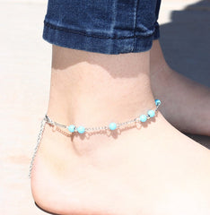 Silver or Gold Ankle Bracelets