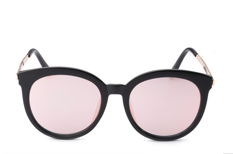 As Seen on Goddess -  Pink Reflective Sunnies