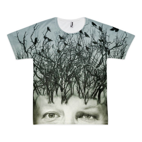 Bird Hair Day Short sleeve men's t-shirt (unisex)
