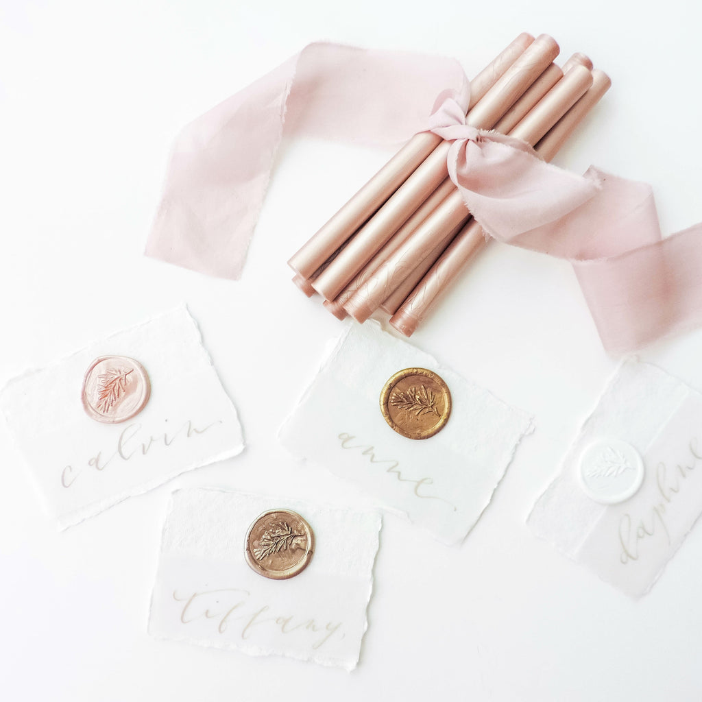 7 Creative Ways to Use Your Wedding Wax Seal