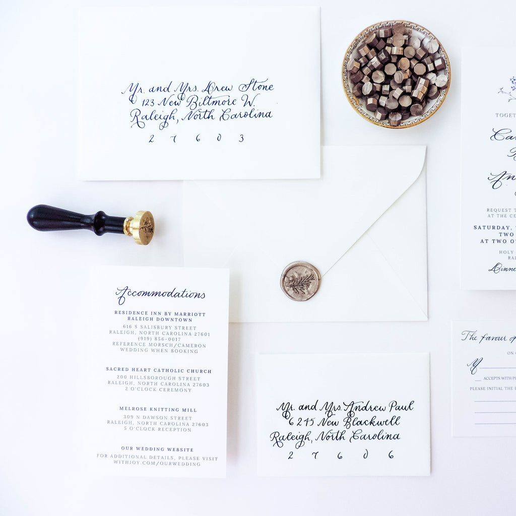 6 Tips for Adding Wax Seals to your Wedding Invitations