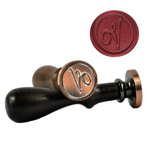 Initial Symbol Wax Seal Stamp