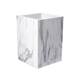 Marble Print Desk Pen Holder Organizer