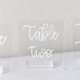 5x5 inch Square Clear Blank Acrylic Sheet | Table Number Signs | Wedding Invites, 20 Count