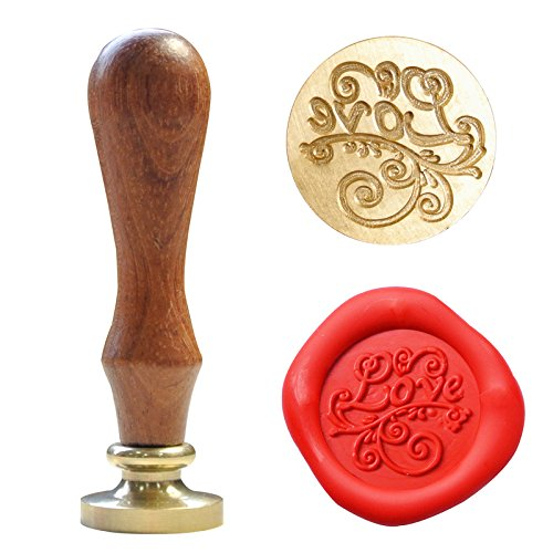 Romantic Flourish Love Wax Seal Stamp