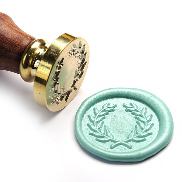 Olive Wreath Wax Seal Stamp