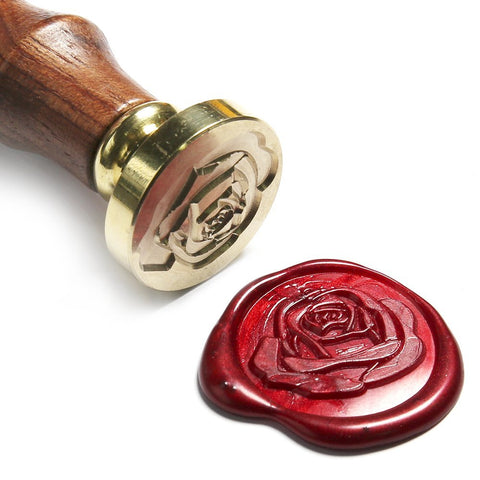 Romantic Rose Wax Seal Stamp