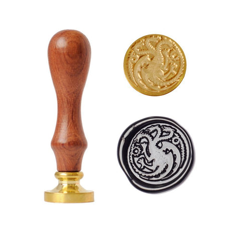 Game of Thrones Ferocious Dragon Wax Seal Stamp