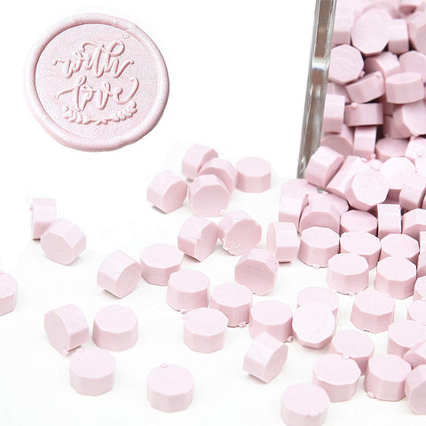 180 PCS Sakura Pink Bottle Sealing Wax Beads