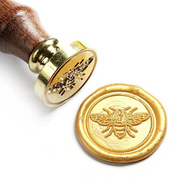 Bee Wax Seal Stamp Gift Kit