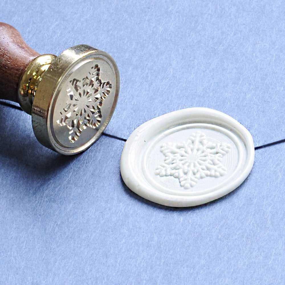 Snowflake Wax Seal Stamp
