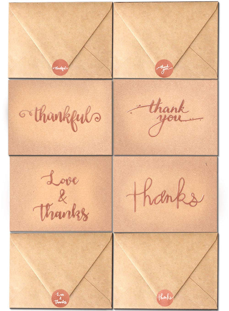 Thank You Cards Set