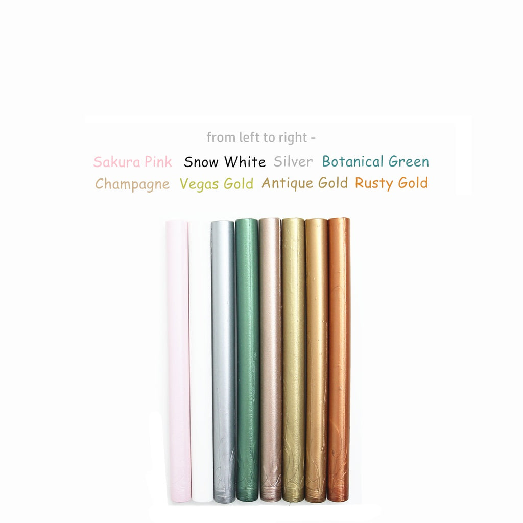 Mix 8 Colors Sealing Wax Sticks, 8 Pack