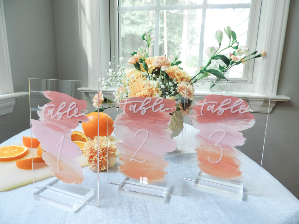 "4"" Large Acrylic Stand 