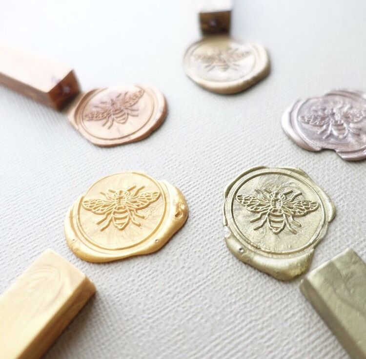 Bee Wax Seal Stamp