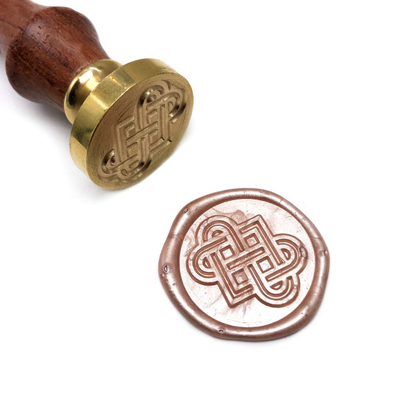 Celtic Knots Love Heart Wax Seal Stamp