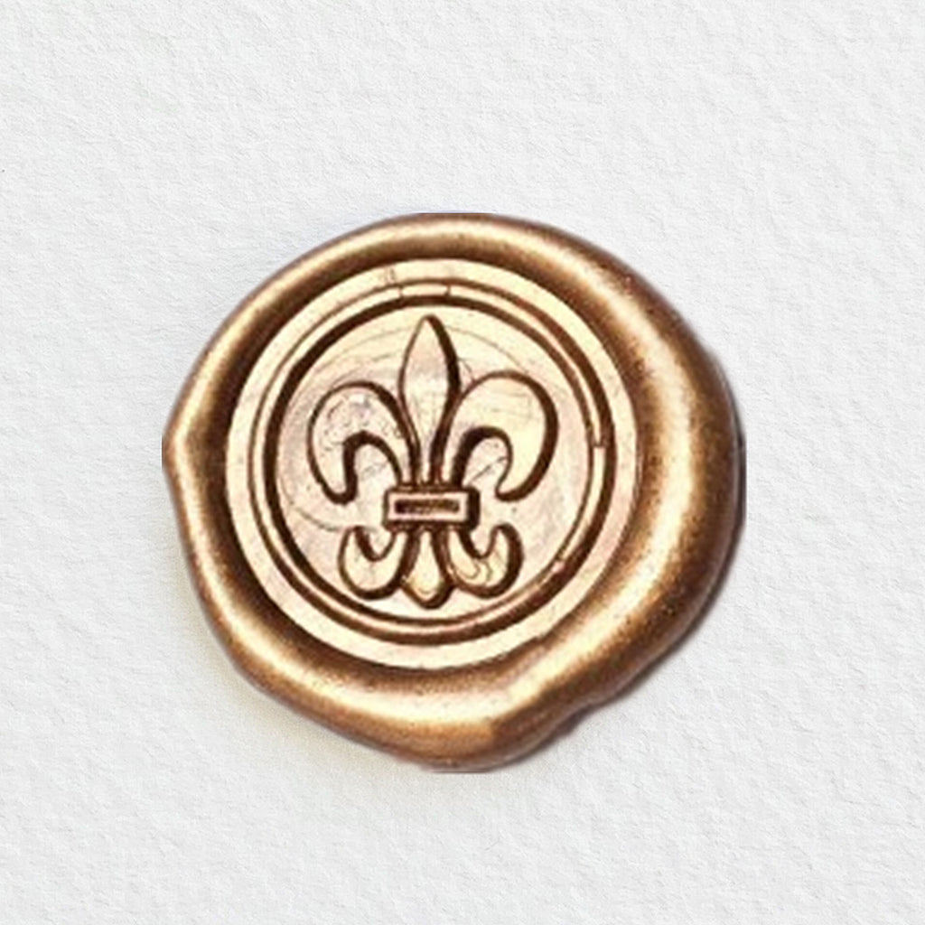 French Fleur-De-Lis Wax Seal Stamp