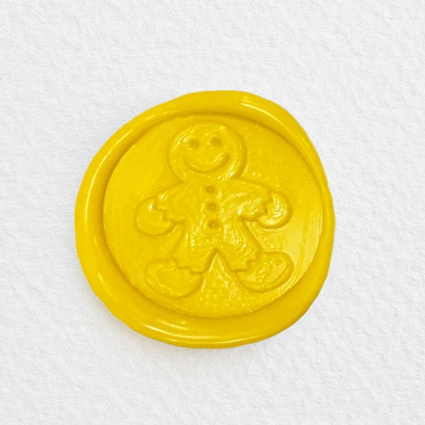 Christmas Gingerbread Man Wax Seal Stamp