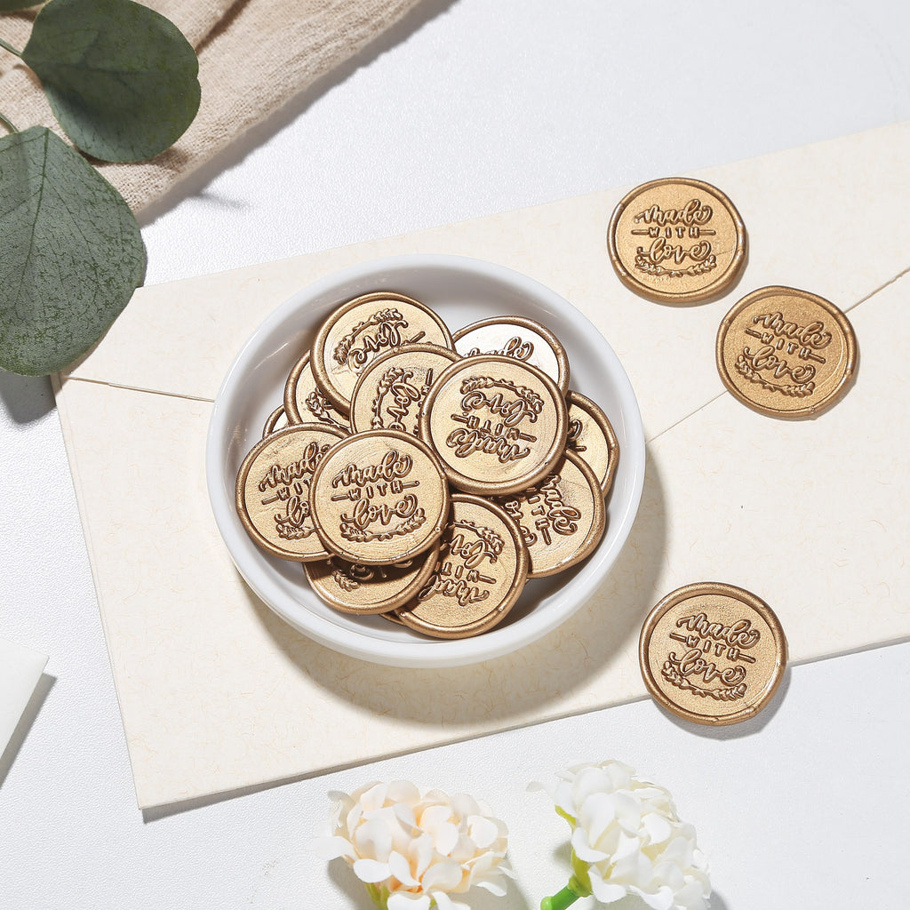Made with Love Wax Seal Stamp