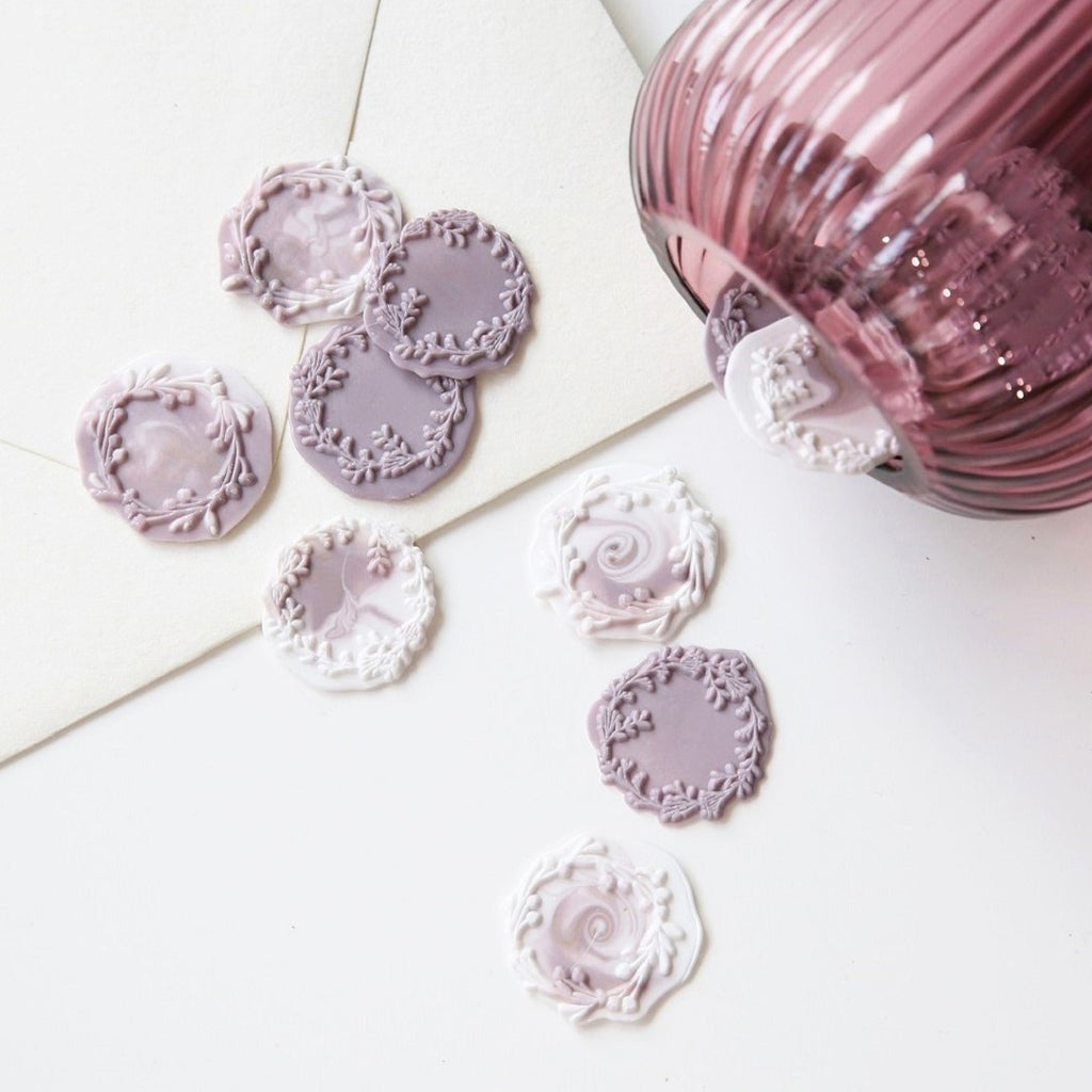 Garden Wreath Wax Seal Stamp